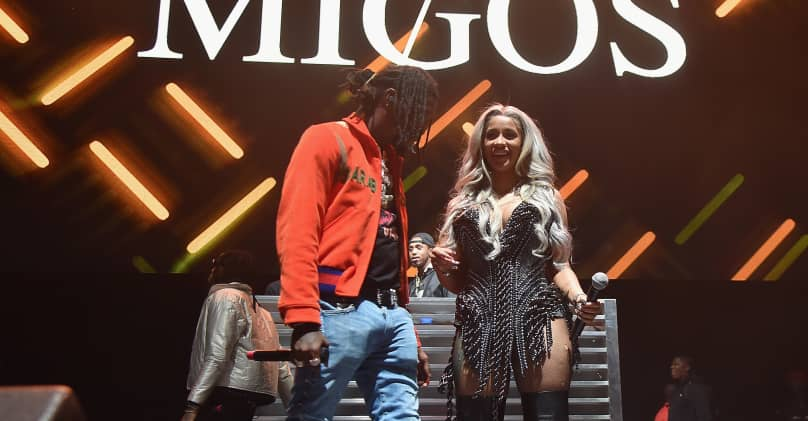 Cardi B S 8 Tattoos Their Meanings: Offset Got Cardi B's Name Tattooed On His Neck