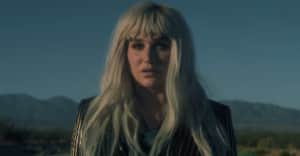 "Kesha shares ""Hymn"" video, partners with United We Dream"