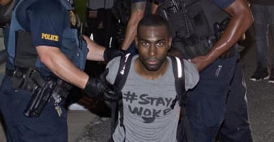 DeRay Mckesson Arrested During Alton Sterling Protest In Baton Rouge