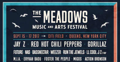 Jay Z And Gorillaz To Headline The Meadows 2017