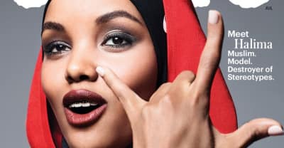 Model Halima Aden Is The Cover Star Of Allure's American Beauty Issue