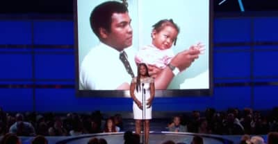 Watch Jamie Foxx And Laila Ali Eulogize Her Late Father, Muhammad Ali