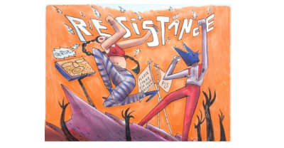 We Asked 11 Artists From Around The World To Make Cartoons About Resistance