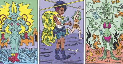 Anya Davidson is the actual rockstar of the comics world
