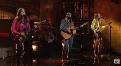 Watch HAIM Perform On Saturday Night Live