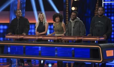 Here's the preview for Kanye West's Celebrity Family Feud appearance