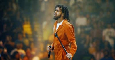 """Denmark crowd joins J. Cole for a """"F*ck Donald Trump"""" chant"""