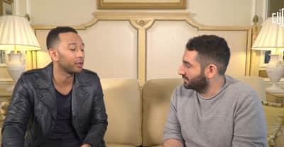 "John Legend Thinks Trump Used Kanye As ""A Publicity Stunt"""