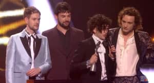 Twitter Is Divided Over The 1975's BRITs Acceptance Speech