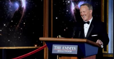 Everyone Is Mad That Sean Spicer Appeared At The Emmys
