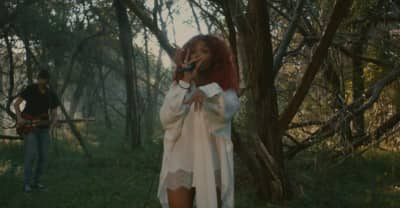 """Watch SZA perform an enchanting rendition of """"Go Gina"""" in the forest"""