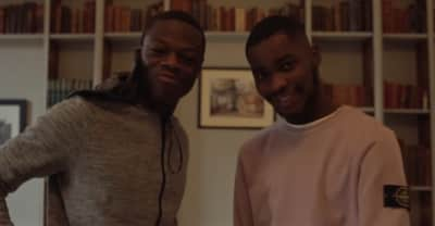 "J Hus And Dave Head To Church For Their ""Samantha"" Video"
