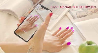 This app lets you try on nail polish with your phone camera