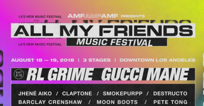 L.A.'s All My Friends Festival will be headlined by Gucci Mane, M.I.A.