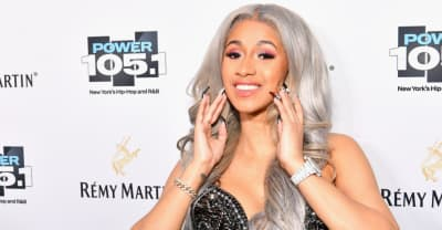 Cardi B is nominated for two Grammys