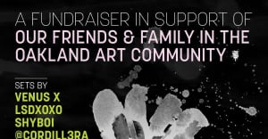 Venus X And LSDXOXO Join Brooklyn Fundraiser For Oakland Fire Relief