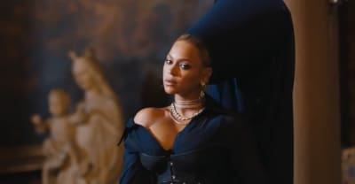 "Beyoncé stars in the teaser clip for JAY-Z's ""Family Feud"" video"