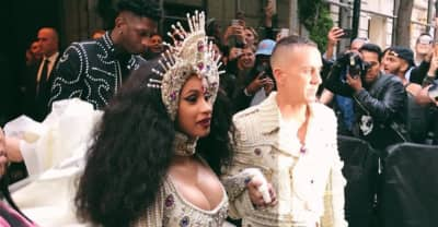 Cardi B's first-ever Met Gala look is heavenly