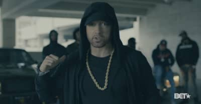 Eminem's BET freestyle was red meat for #TheResistance