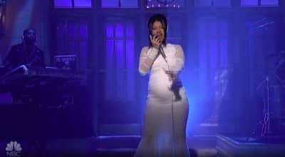 Cardi B unveils pregnancy during Saturday Night Live performance