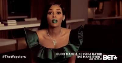 Gucci Mane & Keyshia Ka'oir Tease Their BET Wedding Special