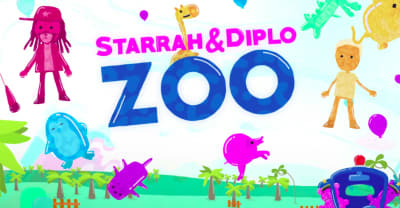 "Watch Starrah and Diplo's adorable ""Zoo"" video"