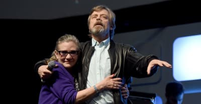 Mark Hamill shares tribute to Carrie Fisher on the one-year anniversary of her death