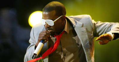 "Kanye West: ""It's all about tiny little glasses"""