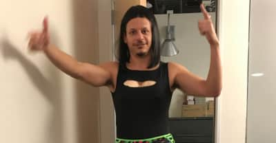 Eric Andre is Cardi B for Halloween