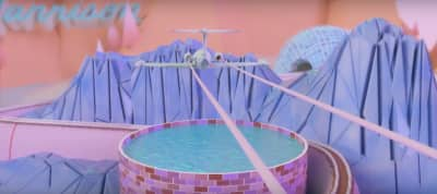 "Tour A 3D World In Harrison And Ryan Hemsworth ""Vanilla"" Music Video"