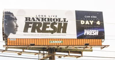 Cam Kirk Presents His Day 4 Exhibit, An Atlanta Billboard Featuring Bankroll Fresh