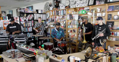 DJ Premier's Tiny Desk Concert Mixes Turntablism With A Live Band