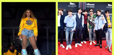 Beyoncé and BTS stans have linked up to dominate all streaming