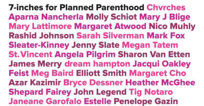Bon Iver, Björk, And Mary J. Blige Contribute Towards 7-inches for Planned Parenthood