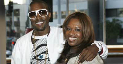 Kanye West is allegedly using a photo of his late mother's plastic surgeon for album cover