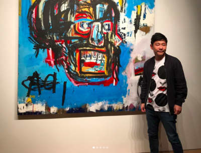 One Of Jean-Michel Basquiat's Paintings Just Sold For A Record $110.5 Million