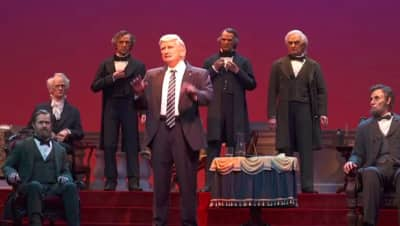 The Hall of Presidents is reopening tomorrow and no one is excited