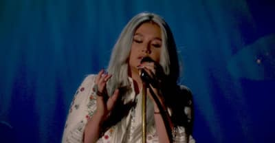 "Watch Kesha's First TV Performance Of ""Praying"""