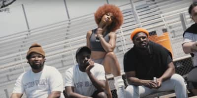 Watch Kendrick Lamar, SZA, Schoolboy Q and the rest of the TDE squad brush up on their sportsmanship