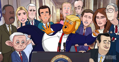 The trailer for Stephen Colbert's cartoon about Donald Trump has arrived
