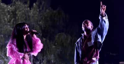 Kendrick Lamar performed at SZA & Vince Staples' Coachella sets.