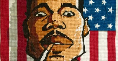 Meet The Chicago Cross Stitch Artist Who's Friends With All Your Favorite Rappers