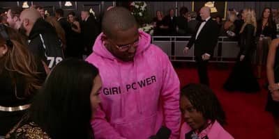 ScHoolboy Q And His Daughter Just Won The Grammys Red Carpet