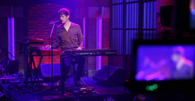 "Watch James Blake Perform ""My Willing Heart"" Live On Seth Meyers"