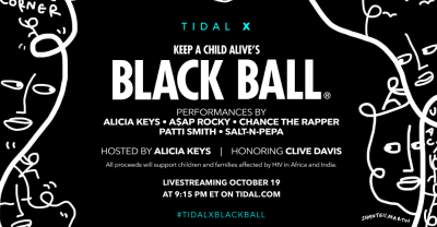 Livestream Chance The Rapper And A$AP Rocky's Performances At TIDAL's Black Ball Benefit Now