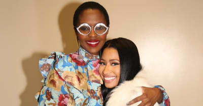 Watch Nicki Minaj Fall To Her Knees While Meeting Idol Lauryn Hill