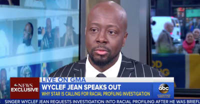 Wyclef Jean Is Calling For A Racial Profiling Investigation After Police Incident