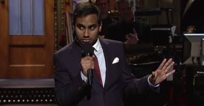 Aziz Ansari Tackles Topics Of Islamophobia And White Supremacy In His SNL Monologue