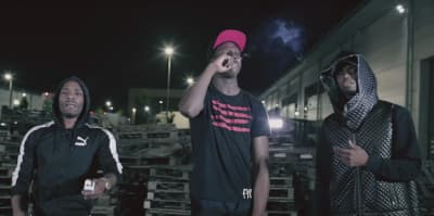 "Krept & Konan Mob With Abra Cadabra In ""Robbery (Remix)"" Music Video"