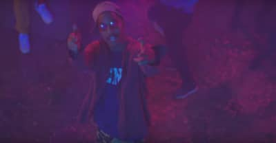 "Kid Cudi Parties With A$AP Rocky, Jaden Smith, And More In The ""Surfin'"" Video"